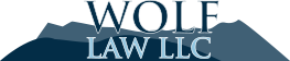 Logo Wolf Law LLC, defense law firm in Denver, Colorado