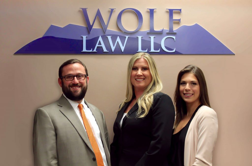 The Denver defense attorneys and support team at Wolf Law LLC