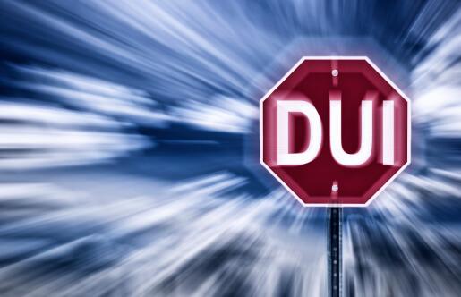 DUI stop sign