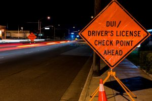 A DUI check point