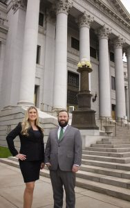 Denver criminal defense lawyers Colleen Kelley and Jeffrey Wolf of Wolf Law