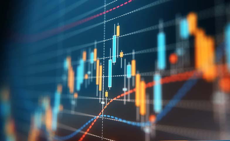 stock photo of a bar graph